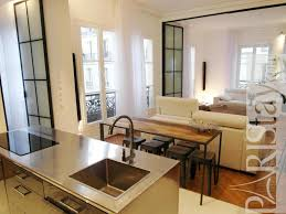 Bedroom Loft Luxury Apartment Renting Grands Boulevards  Paris - Luxury apartment bedroom