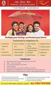 For details, contact post office or toll free no 18001805232. Postal Life Insurance Eligibility Facilities Post Office Guide Sa Post