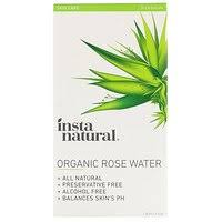 InstaNatural, <b>Organic Rose Water</b>, <b>Alcohol-Free</b>, 4 fl oz (120 ml ...