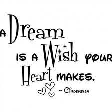 A Dream Is A Wish Your Heart Makes Quote Best of Dreamed A Vivid Dream Last Night I Will Definitely Pray It Comes