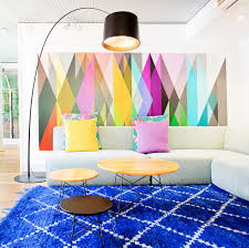 stunning stand out area rugs ideas inspiration with cobalt blue rug designs 6