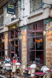 Outdoor seating at bistro relais odeon in saint germain des pres paris france our image licences