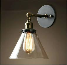 industrial contemporary lighting. Contemporary Light Sconces Vintage Industrial Modern Glass Sconce Funnel Wall Lights Shade Bathroom Lighting R