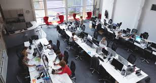 Open Concept Office Design Best Openplan Offices Drive Down Facetoface Interactions And Increase