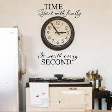 diy dining room wall art. Interior Enchanting Time Spent With Family Quote Wall Decoration Letters Vinyl Home Decor For Dining Room Diy Art