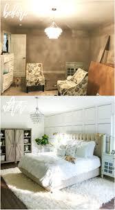 White Master Bedroom Makeover