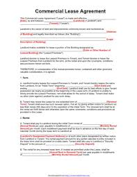 Lease Agreement Form Pdf Delectable NJ Lease Agreement PDF PDFSimpli