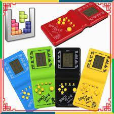 Máy chơi game xếp hình huyền thoại thời 8x,9x (không kèm pin)