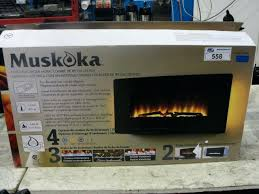 image 1 electric fireplace muskoka 42 inch reviews