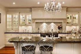 Kitchen Beadboard Backsplash Country French Kitchen Double Door Glass Kitchen Cabinets Pictures