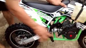 motor mini trail all new 50 cc 2 tak depok