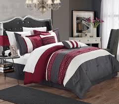 image of gray gray comforter sets