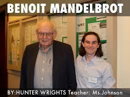 Benoit Mandelbrot by Hunter Wrights