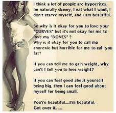 Skinny Is Beautiful Quotes Best Of I Like These Skinny Girl Quotes Make Me Feel Like There Otherw
