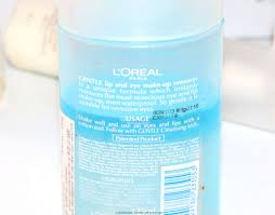 l oreal gentle lip eye makeup remover review