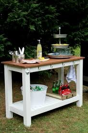 use your kreg jig to create a stylish outdoor serving buffet free plans by amanda at the tale of an ugly house table g88