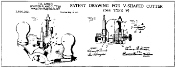 stanley router plane. this was patent no. stanley router plane