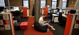 google office cubicles. googleu0027s new york offices reflect a growing trend in which companies favor communal google office cubicles o