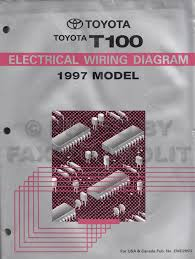 toyota t service manuals shop owner maintenance and repair 1997 toyota t100 truck wiring diagram manual original