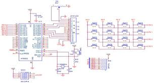 schematic the wiring diagram circuits > keypad interfacing 8051 slicker l48309 next gr schematic
