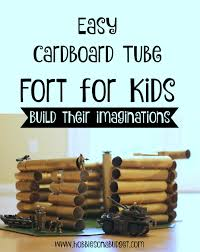 Easy Forts To Build Easy Toilet Paper Roll Forts For Kids