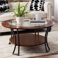 decoration round coffee table with shelf cozy asia wooden tables for 0 from round