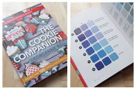The Cookie Companion Color Charts Supplies For Cookie Decorators Sweetambssweetambs