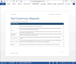 Microsoft Word Template Report Blog Templates Forms Checklists For Ms Office And Apple Iwork
