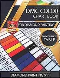 Printable Dmc Embroidery Floss Color Chart Dmc Color Chart Book For Diamond Painting The Complete