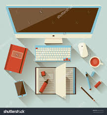 modern office furniture contemporary checklist. Office Large-size Flat Design Modern Vector Illustration Concept Of Creative Save To A Furniture Contemporary Checklist O