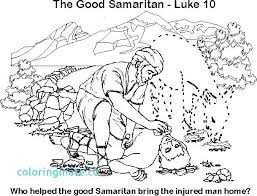 Good Coloring Page The Sunday School Samaritan Pages Bible Colouring