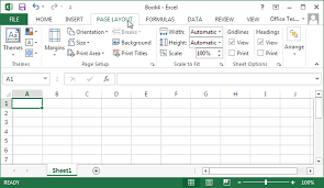 1 Creating Your First Spreadsheet Excel 2013 The Missing