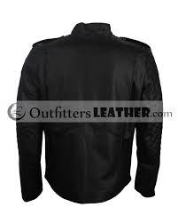 batman beyond black celebrity leather jacket men outfitters leatheroutfitters leather