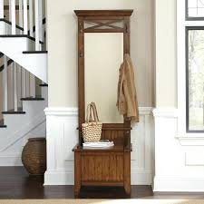 Wooden Coat Rack With Storage Coat Racks With Storage Bench Mango Wood Entry Hall Bench With Coat 63