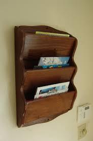 hanging mail organizer wood