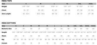 Fox Gear Sizing Chart Altitude Short
