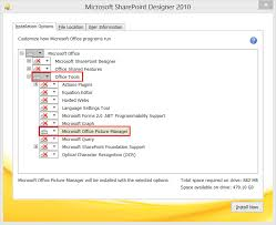 Microsoft Office Sharepoint Designer 2007 Stunning Install Office Picture Manager With Office 48 Technical Overload