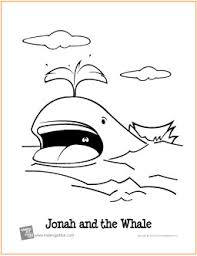 Small Picture Jonah and the Whale Free Printable Coloring Page