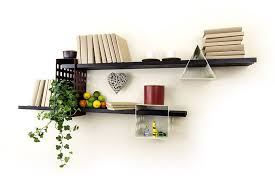 creative designs furniture. Furniture, Beautiful Book Shelving With Plants And Interesting Ornaments: Shelves Creative Designs Furniture