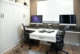 home office two desks. Dual Desk Home Office Two Person Openpoll Me Desks