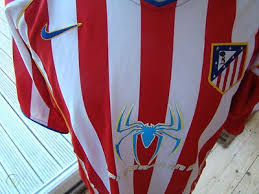 Atletico madrid return to the top of la liga with a win over huesca 24 hours after withdrawing from the european super league. Rare Nike Athletico Madrid 2004 Spiderman 2 Home Shirt Lfp Spain Size Xl 466707974