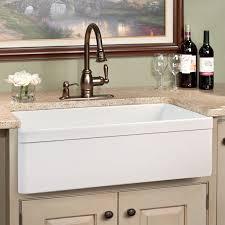 large single bowl farm sinks for kitchens in white