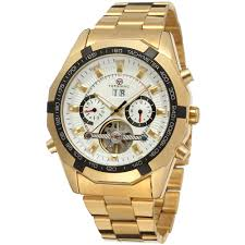 whole forsining classic automatic stainless steel forsining classic automatic stainless steel whole luxury men gold color watches