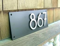 best house number signs apartment number signs best house number signs images on house number signs
