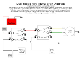 wiring diagram for ford taurus efan electrical zr2usa com fan wiring diagram user posted image