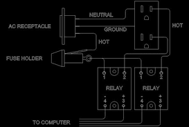 relay wiring diagram 8 pin wiring diagrams wiring diagram power tom benedict builds a relay box for his taig cnc mill