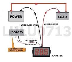 amp meter wiring diagram 2 channel amp wiring diagram at Wiring Diagram For Amp