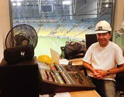 Carlos Eduardo Melo Ramires from A&H's Brazilian distributor, AudioPremier, with the new GLD-80 mixer at Maracana stadium. Related Tags - OpenAllenHeathMaracanaWorldCub2