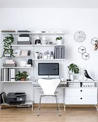 scandinavian office design. Scandinavian Home Office | Www.my-full-house.com Top Interior And Lifestyle Blog Design