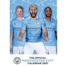 Manchester City - Wandkalender 2021